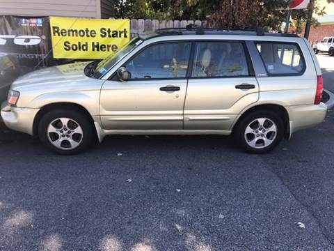 2004 Subaru Forester for sale in Teterboro, NJ