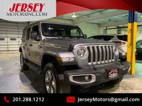 2020 Jeep Wrangler Unlimited for sale at JerseyMotorsInc.com in Teterboro NJ