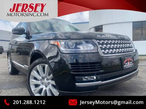 2015 Land Rover Range Rover Supercharged for sale at JerseyMotorsInc.com in Teterboro NJ