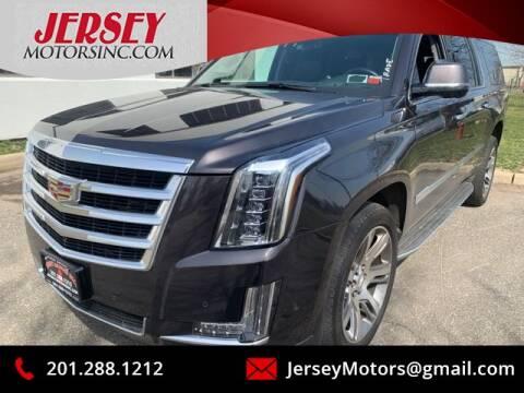 2015 Cadillac Escalade ESV Luxury for sale at JerseyMotorsInc.com in Teterboro NJ