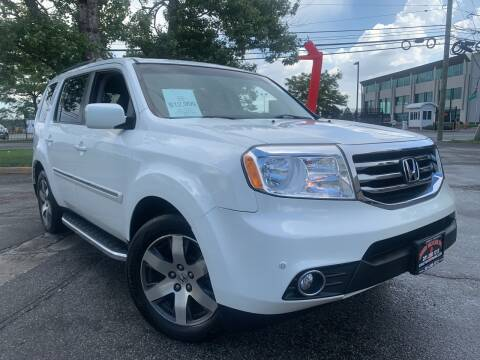 2012 Honda Pilot for sale at JerseyMotorsInc.com in Teterboro NJ