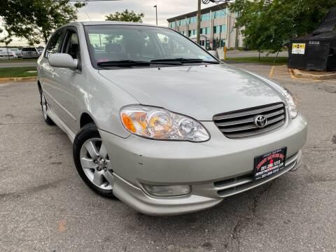 2004 Toyota Corolla for sale at JerseyMotorsInc.com in Teterboro NJ