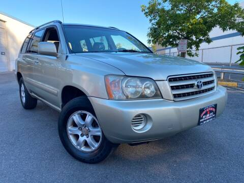 2003 Toyota Highlander for sale at JerseyMotorsInc.com in Teterboro NJ