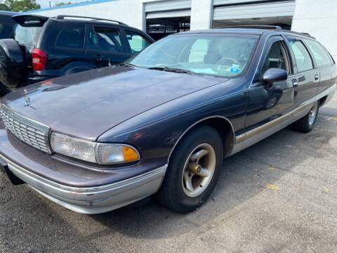 1993 Chevrolet Caprice for sale at JerseyMotorsInc.com in Teterboro NJ