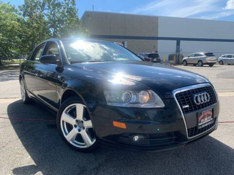 2008 Audi A6 for sale at JerseyMotorsInc.com in Teterboro NJ