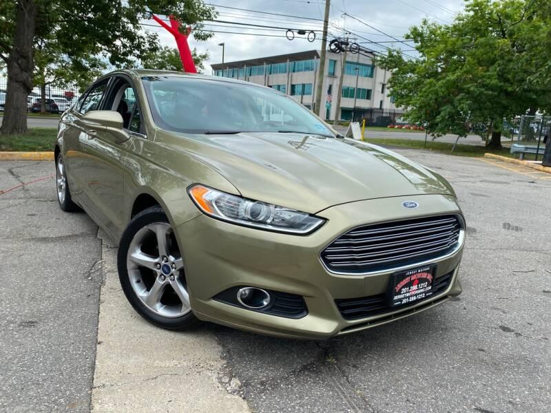 2013 Ford Fusion for sale at JerseyMotorsInc.com in Teterboro NJ
