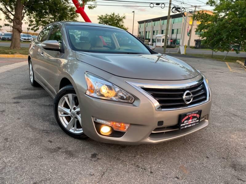 2013 Nissan Altima for sale at JerseyMotorsInc.com in Teterboro NJ