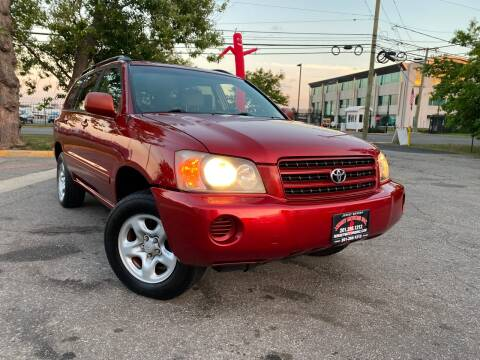 2002 Toyota Highlander for sale at JerseyMotorsInc.com in Teterboro NJ