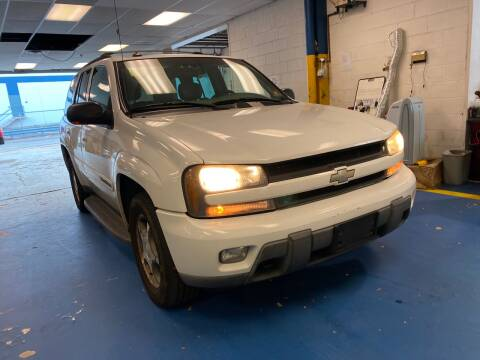 2004 Chevrolet TrailBlazer for sale at JerseyMotorsInc.com in Teterboro NJ