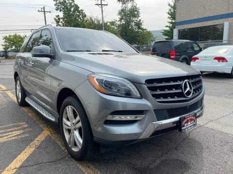 2015 Mercedes-Benz M-Class for sale at JerseyMotorsInc.com in Teterboro NJ