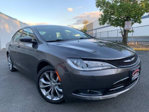 2015 Chrysler 200 for sale at JerseyMotorsInc.com in Teterboro NJ