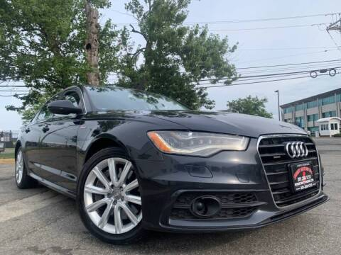 2013 Audi A6 for sale at JerseyMotorsInc.com in Teterboro NJ