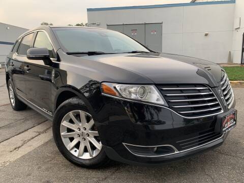 2018 Lincoln MKT Town Car for sale at JerseyMotorsInc.com in Teterboro NJ