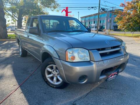 2004 Nissan Frontier for sale at JerseyMotorsInc.com in Teterboro NJ