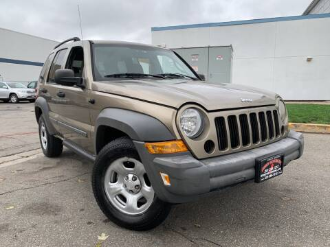 2005 Jeep Liberty for sale at JerseyMotorsInc.com in Teterboro NJ