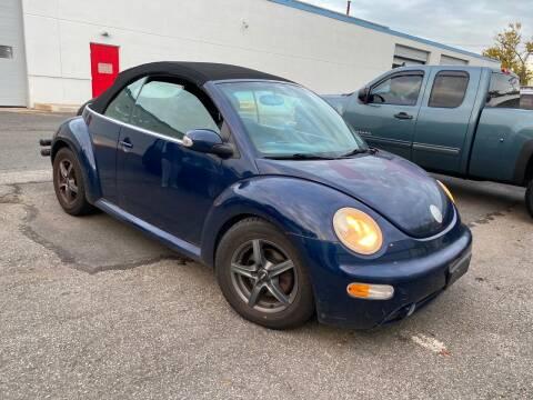 2004 Volkswagen New Beetle Convertible for sale at JerseyMotorsInc.com in Teterboro NJ
