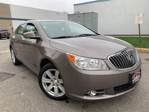 2011 Buick LaCrosse for sale at JerseyMotorsInc.com in Teterboro NJ