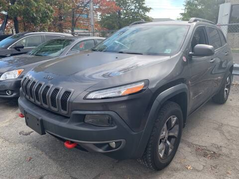 2015 Jeep Cherokee for sale at JerseyMotorsInc.com in Teterboro NJ