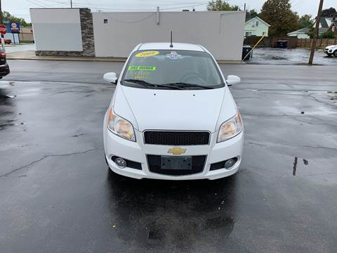 2009 Chevrolet Aveo for sale at L.A. Automotive Sales in Lackawanna NY