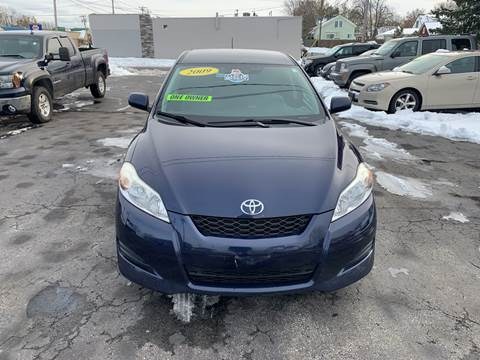 2009 Toyota Matrix for sale at L.A. Automotive Sales in Lackawanna NY