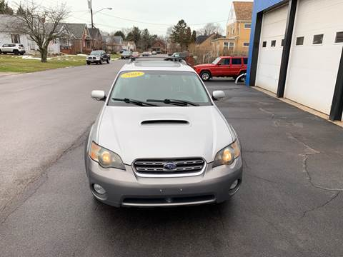 2005 Subaru Outback for sale at L.A. Automotive Sales in Lackawanna NY