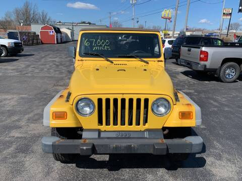2002 Jeep Wrangler for sale at L.A. Automotive Sales in Lackawanna NY