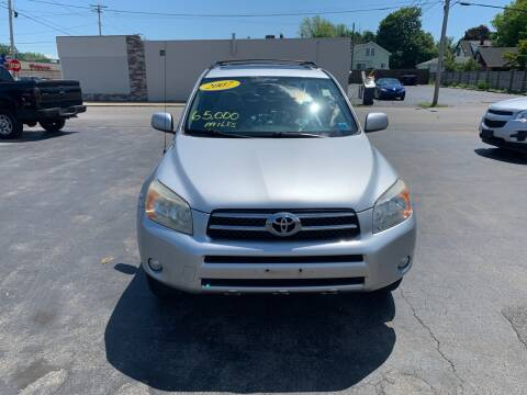 2007 Toyota RAV4 for sale at L.A. Automotive Sales in Lackawanna NY