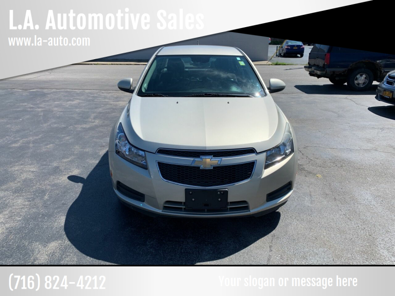 2013 Chevrolet Cruze for sale at L.A. Automotive Sales in Lackawanna NY