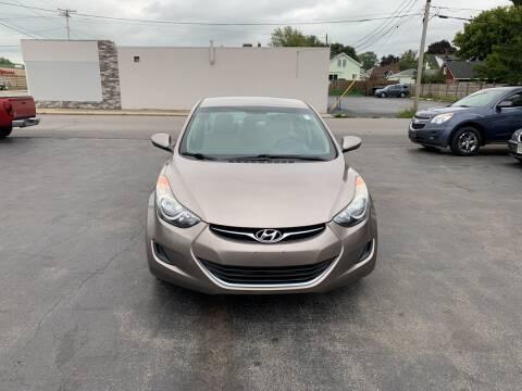 2011 Hyundai Elantra for sale at L.A. Automotive Sales in Lackawanna NY
