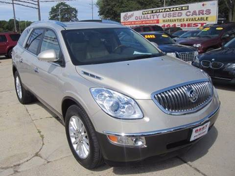 2012 Buick Enclave for sale at Best Auto & tires inc in Milwaukee WI