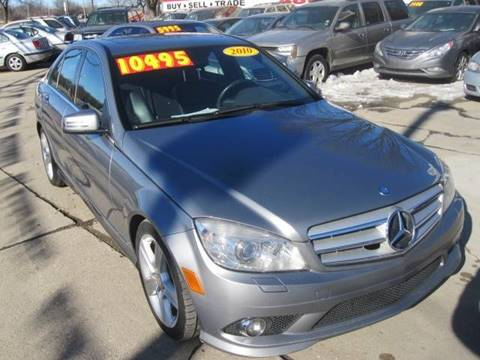 2010 Mercedes-Benz C-Class for sale at Best Auto & tires inc in Milwaukee WI