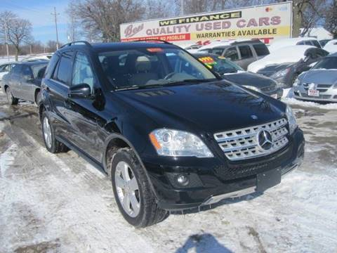 2011 Mercedes-Benz M-Class for sale at Best Auto & tires inc in Milwaukee WI
