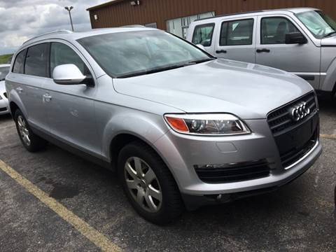 2007 Audi Q7 for sale at Best Auto & tires inc in Milwaukee WI