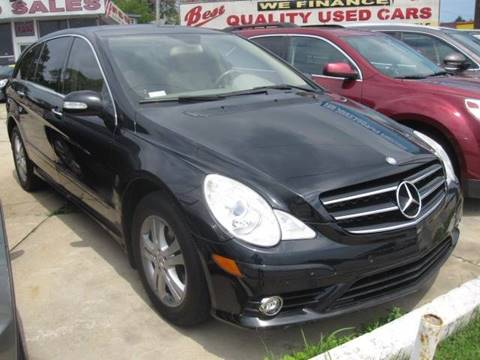 2009 Mercedes-Benz R-Class for sale at Best Auto & tires inc in Milwaukee WI