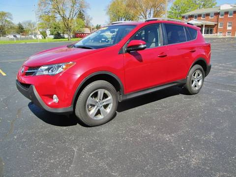 2015 Toyota RAV4 for sale at D'Acquisto Motors in Racine WI