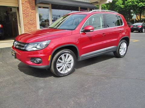 2016 Volkswagen Tiguan for sale at D'Acquisto Motors in Racine WI