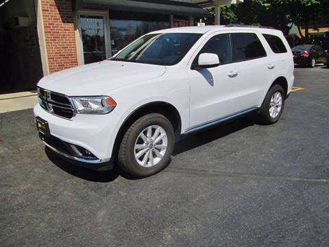 2015 Dodge Durango for sale at D'Acquisto Motors in Racine WI