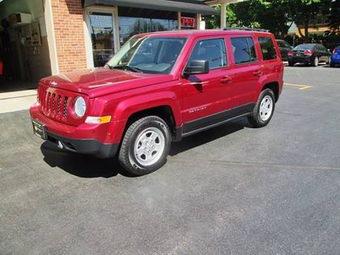 2016 Jeep Patriot for sale at D'Acquisto Motors in Racine WI