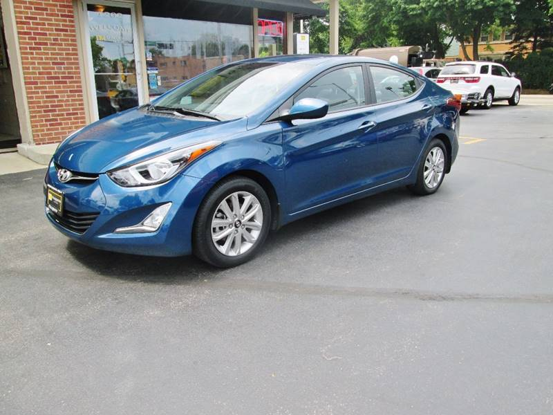2014 Hyundai Elantra for sale at D'Acquisto Motors in Racine WI