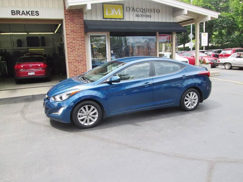 2014 Hyundai Elantra for sale at D'Acquisto Motors in Racine WI