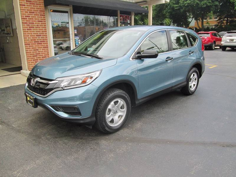 2015 Honda CR-V for sale at D'Acquisto Motors in Racine WI