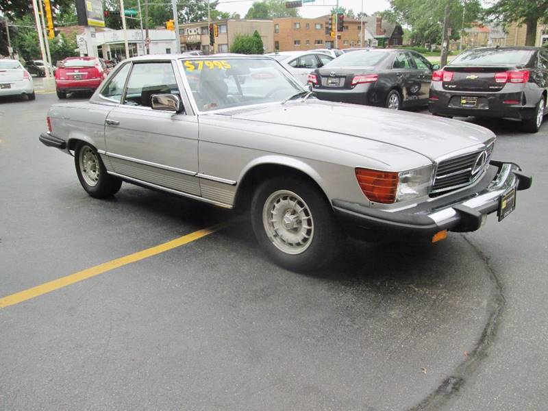 1981 Mercedes-Benz 380-Class for sale at D'Acquisto Motors in Racine WI