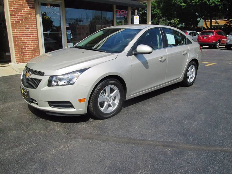 2014 Chevrolet Cruze for sale at D'Acquisto Motors in Racine WI