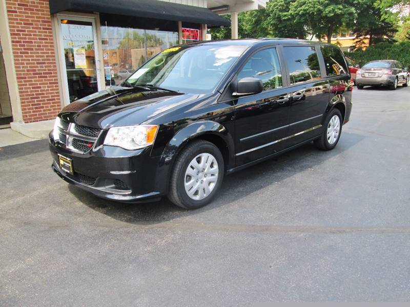 2014 Dodge Grand Caravan for sale at D'Acquisto Motors in Racine WI