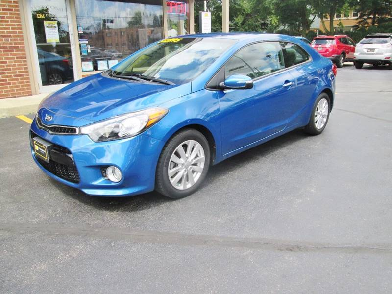 2015 Kia Forte Koup for sale at D'Acquisto Motors in Racine WI