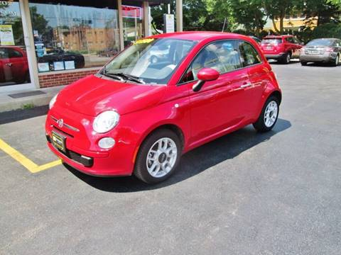 2015 FIAT 500 for sale at D'Acquisto Motors in Racine WI