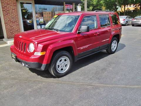 2015 Jeep Patriot for sale at D'Acquisto Motors in Racine WI