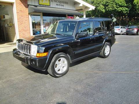 2008 Jeep Commander for sale at D'Acquisto Motors in Racine WI