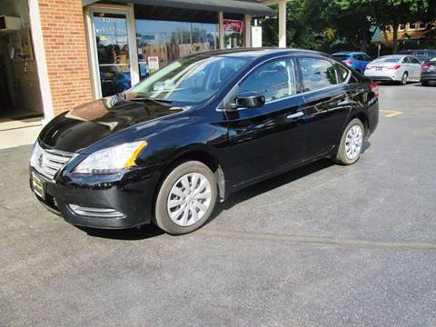 2014 Nissan Sentra for sale at D'Acquisto Motors in Racine WI