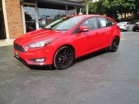 2016 Ford Focus for sale at D'Acquisto Motors in Racine WI